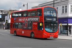 LJ59 AEZ (DW230) Arriva London (hotspur_star) Tags: londontransport londonbuses londonbus londonbuses2019 wrightbus tfl transportforlondon busscene2019 doubledeck arrivalondon lj59aez dw230 370