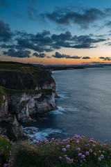 Maghercross Post Sunset (Sean Harkin) Tags: maghercross portrush sunset sunsetting nikond600 nikkor 1635mmf4vr landscape seascape water atlantic ocean beach shore coast sea northern ireland antrim cloud rocks cliff causewaycoastalroute causewaycoast formatthitech 6stopndfilter littlestopper