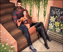♔ LoTd 432 (Morena Zenoria) Tags: belleposes pose fair posefair event fashionnatic cosmopolitan carolg chuck size equal 10 tmd the man men dept native urban anthem lelutka maitreya gaeg signature ade hair second secondlife life blogger blog seniha belle