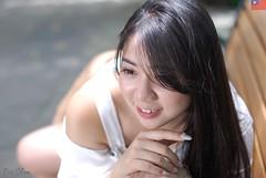 傅郁瑄 (玩家) Tags: 2019 台灣 台北 花博 人像 外拍 正妹 模特兒 傅郁瑄 戶外 定焦 無後製 無修圖 taiwan taipei portrait glamour model girl female outdoor d40x 50mm prime