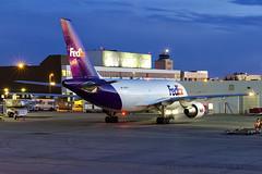 FedEx A310 (FoxbatOne) Tags: fedex winnipeg cywg airbus a310 cargo freight dawg jet airplane aviation n808fd