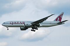 Qatar Boeing 777-200 A7-BBA (gooneybird29) Tags: flugzeug flughafen aircraft airport airplane airline muc boeing 777 qatar qatarairways a7bba