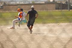 Play At 2nd (Joel5Villafana) Tags: safe softball balance weightshift time motion