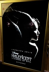 Maleficent Mistress of Evil Movie Poster 8002 (Brechtbug) Tags: maleficent mistress evil movie poster standee billboard theater lobby angelina jolie with green plant 34th street near 8th avenue theatre new york city disney witch fairy queen sleeping beauty nyc secret agent woman lady action star 2019 portrait dragon aurora rose bush spinning wheel narcolepsy princess may 05122019