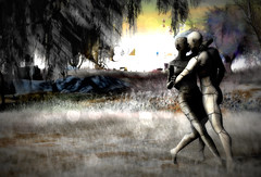 Dancing in the dark (Pheebes Cheng) Tags: secondlife sl slphotography sllandscape virtualworld virtualphotography