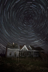 20190510-Startrail maison2 (Batin) Tags: astrophotography star moon spring dark space deepspace night milkyway stars astrophoto