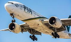 Pakistan International Airlines 777-200ER @CYYZ (Sonny Photography) Tags: cyyz yyz pia pakistaninternationalairlines 777 772 777200er aviation avgeek avlovers planespotting planespotter toronto