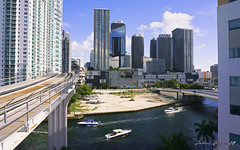 A quick view of the City Centre. (Aglez the city guy ☺) Tags: citycentre miamifl miamicity downtownmiami walkingaround waterways river railway urbanexploration urbantransportation architecture afternoon building yacht miamiriver departmentstores shoppingcenter mall outdoors
