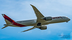 RISING AVIANCA 787-9 IN WIDESCREEN (AvgeekJoe) Tags: 100400mmf563 787 787dreamliner 7879 avianca b789 boeing787 boeing787dreamliner boeing7879 boeing7879dreamliner d7500 dslr dreamliner jetliners n797av nikon nikond7500 sigma sigma100400mmf563 sigma100400mmf563dgoshsmcontemporary aircraft airplane aviation jetliner plane telephotolens
