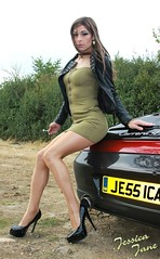 Porsche Pin Up (jessicajane9) Tags: tg crossdresser tgurl femme pantyhose tranny crossdress transgender xdress trans cd tgirl feminization travesti crossdressing tv m2f tights feminised transvestite