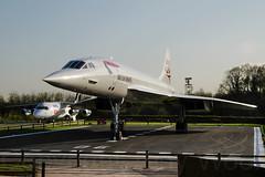 G-BOAC MAN 220404 IMGP7254-a (Tony.Woof) Tags: gboac british airways concorde manchester man egcc aviation viewing park girjx avro rjx