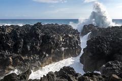 Le Gouffre de l'Étang-Salé, Reunion / Смотровая площадка Ле Гуфр, Реюньон /explore/2019/05/13 (dmilokt) Tags: природа nature пейзаж landscape обзор overview дорога road море океан sea ocean волна wave камень rock dmilokt