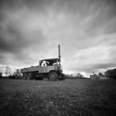 2275 Steam Truck (Monobod 1) Tags: ondu pinhole 6x6 foma 10050 rodinal epsonv800 lensless 120 blackwhite