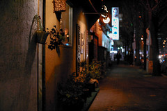 1918/1716 (june1777) Tags: snap street seoul night light bokeh kyocera contax n digital ndigital nd carl zeiss planar 50mm f14 320