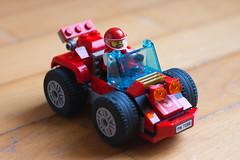 Lego Time (Sir Willy) Tags: lego costruzioni tempo vintage nikon dslr d7200 afs 50 18 50mm diodati william red car giochi