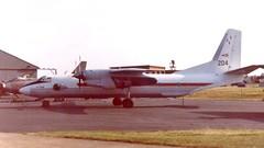204 ATI Boscombe Down 12 June 1992 (ACW367) Tags: 204 antonov an26 hungarianairforce ati boscombedown