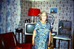 492_Nan Wright, Arnulf Street, December 1971 (wrightfamilyarchive) Tags: nan wright arnulf street bellingham south east london se63ef christmas 1971 1970s 70s seventies