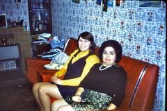 490_December1971_ArnulfStreetHilElvie (wrightfamilyarchive) Tags: hilary elvie wright arnulf street bellingham south east london se63ef christmas 1971 1970s 70s seventies