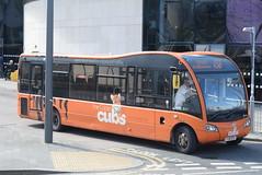 YT 409 @ Rochdale Interchange (ianjpoole) Tags: yorkshire tiger optare solo m890 sr yj15ayv 409 working route x58 rochdale interchange halifax bus station