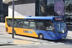 RT 612 @ Rochdale Interchange (ianjpoole) Tags: rosso transport wright streetlite max df sk66hre 612 working route lakeline 457 rochdale interchange littleborough train station