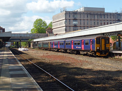 143603 & 150238 Exeter Central (2) (Marky7890) Tags: 150238 class150 sprinter gwr 143603 class143 pacer 2f25 exetercentral railway devon train
