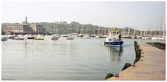 Edgcumbe Belle (peterphotographic) Tags: img017edwm edgcumbebelle leica leicam6 m6 summarit summaritm35mmf25 ©peterhall cremyllferry plymouth devon westcountry england uk britain boat ship vessel ferry harbour mooring pier mountedgcumbe kodak portra portra400 film 35mm scanned analog prime wideangle filmsnotdead