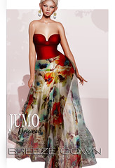 Breeze Gown AD (junemonteiro) Tags: jumo originals gown chic glamour maitreya belleza slink