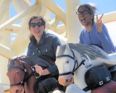 Steeplechase Start III (edenpictures) Tags: janine mom mothersday eden steeplechase rollercoaster horses coneyisland brooklyn newyorkcity nyc amusementpark lunapark