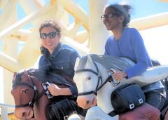 Steeplechase Start I (edenpictures) Tags: janine mom mothersday eden steeplechase rollercoaster horses coneyisland brooklyn newyorkcity nyc amusementpark lunapark