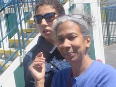 After the Steeplechase IV (edenpictures) Tags: janine mom mothersday eden steeplechase rollercoaster horses coneyisland brooklyn newyorkcity nyc amusementpark lunapark
