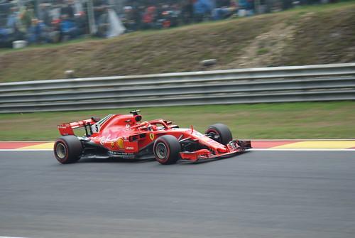 Spa 2018 - Sebastian Vettel 01