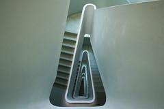 Triangle II (Elbmaedchen) Tags: staircase stairs stairwell stufen steps architektur architecture treppenhaus treppenauge treppe treppenstufen escaliers escaleras