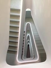 Triangle I (Elbmaedchen) Tags: berlin staircase stairs stairwell stufen steps architektur architecture treppenhaus treppenauge treppe treppenstufen escaliers escaleras