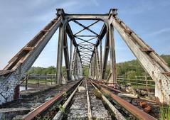 pont3 (Geert Orange_Crush VP) Tags: abandoned bridge urbanexploring charleroi