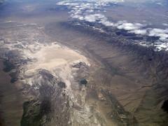 Yelland of Spring (Sotosoroto) Tags: aerial nevada greatbasin mountains springvalley drylake snakerange whitepinecounty