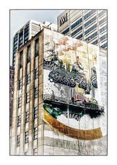 Chicago Street Art (Jean-Louis DUMAS) Tags: art street life artistic artiste artist artistique fleurs abstract abstraction abstrait peinture streetart artdelarue chicago usa architecture architectural travel trip voyage hdr
