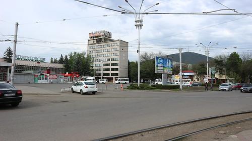 Пятигорск, Привокзальная площадь. ©  dubna30