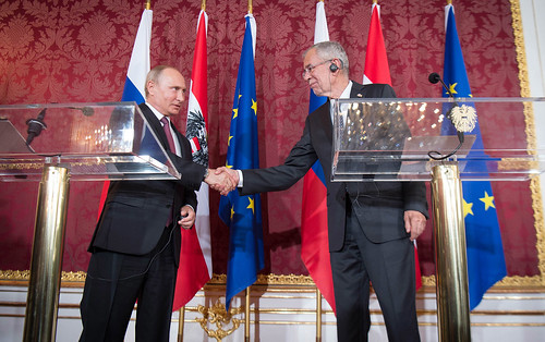 Offizieller Arbeitsbesuch des Präsidenten der Russischen Förderation Vladimir Putin in Österreich