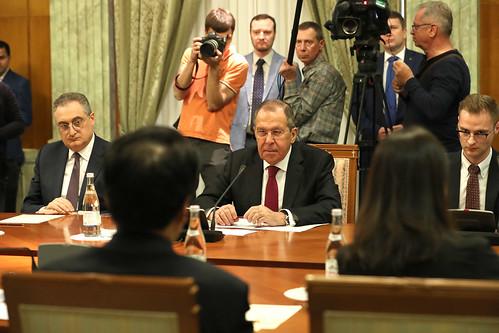 С.Лавров и Ван И | Sergey Lavrov and Wang Yi