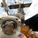 STS-125 MS4 Mike Massimino Poses for a Photo during Flight Day 7