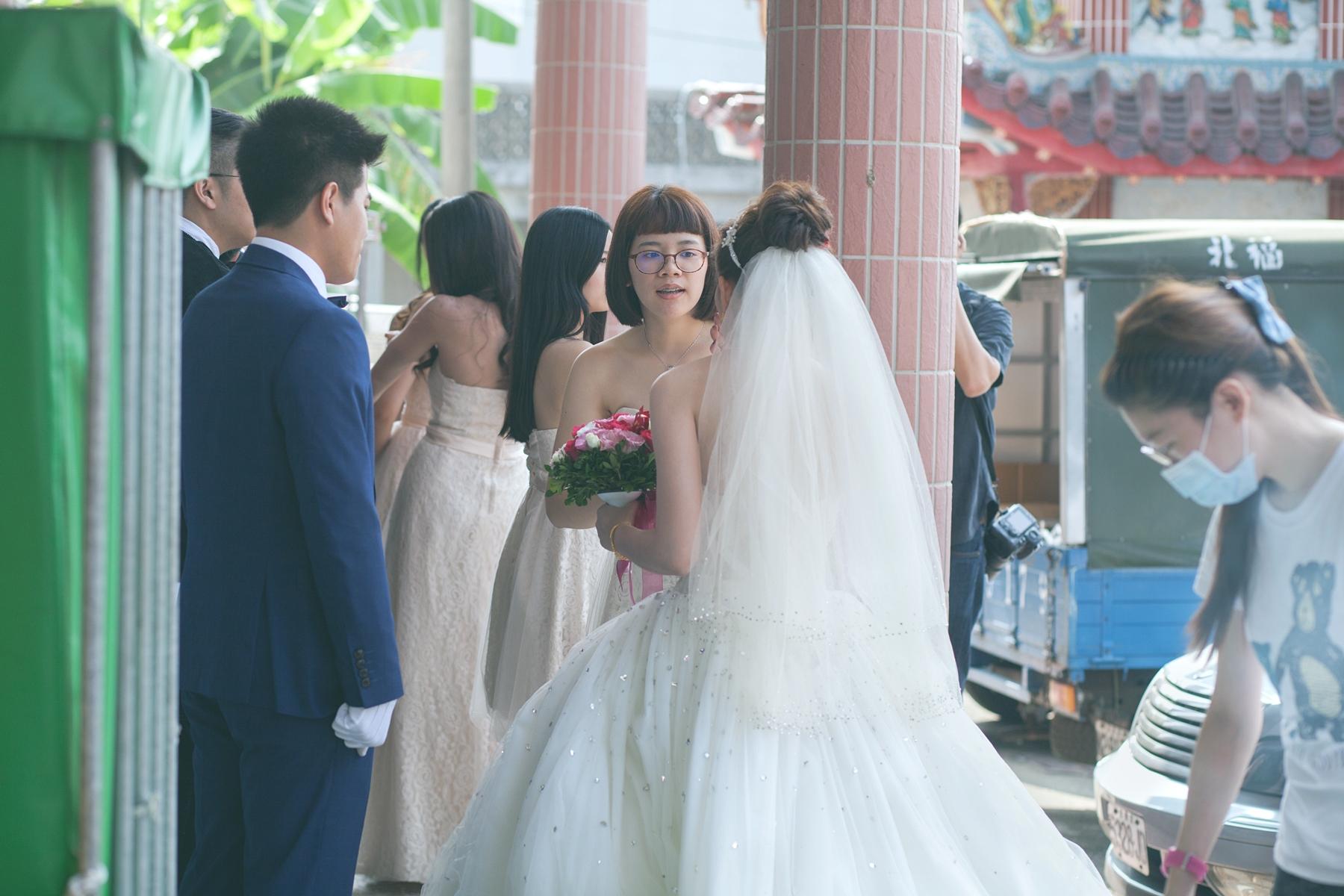 """""""婚禮攝影,婚攝,婚禮記錄,台南,自宅,流水席,底片風格,自然"""""""