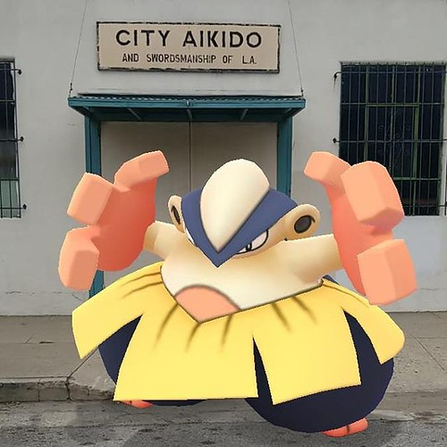 More rikishi than akidoka, but you takes yer Pokemon as they are.