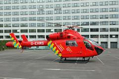 London's Air Ambulance in Wembley (kertappa) Tags: img0777 air ambulance londons london hems doctor paramedics hospital gehms emergency helicopter kertappa wembley