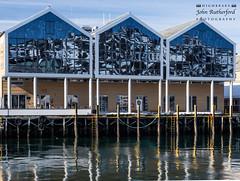 47 JR Hammersund 190419 (Jofford) Tags: cruise hammerfest norway port reflections