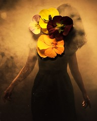From a dream setting (Lucas.Ross) Tags: surreal conceptual portrait girl flower lucas ross abstract strobist