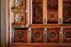 Spanish Mudejar Ceiling (█ Slices of Light █▀ ▀ ▀) Tags: morning room casa grande spanish mudejar ceiling antique wood 16th century castillo hearst castle 赫斯特 赫斯特城堡 william randolph san simeon california 加州 加利福尼亞 usa sony rx1rm2 rx1rii rx1r ii m2