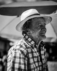 Rostros palmas 7 (Fran Orozco Fotografía) Tags: photo photos photography photographs foto fotos fotografía fotografías fotógrafo nikon dslr colombia 50mm ilovephotography portrait blackwhite people