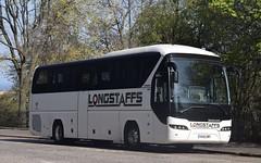 OU15ZWF  Longstaffs, Amble (highlandreiver) Tags: ou15zwf ou15 zwf longstaffs coaches amble northumberland neoplan tourliner bus coach edinburgh