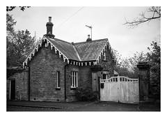 FILM - Grange Lodge (fishyfish_arcade) Tags: 35mm analogphotography bw blackwhite blackandwhite canonsureshotz135 filmphotography filmisnotdead hp5 istillshootfilm monochrome analogcamera compact film ilford mono