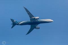 Dreamliner April 30th 2019 012 (Mark Schofield @ JB Schofield) Tags: dreamliner boing aeroplane flight fly oman air